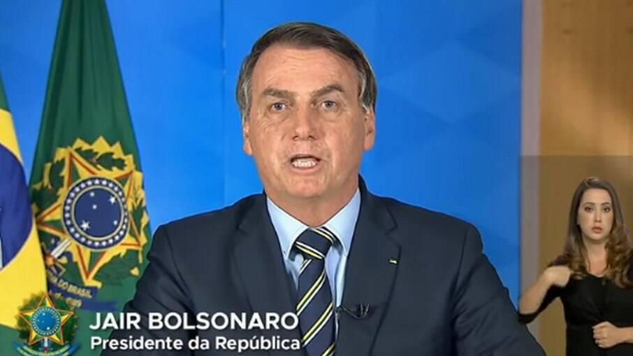 Bolsonaro defende vacinação em pronunciamento