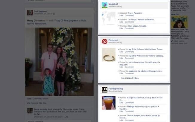 Aplicativos integrados ao Facebook aparecerão em destaque no perfil do usuário