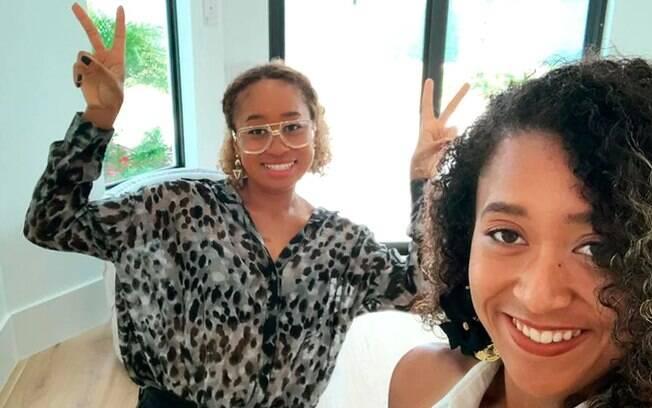 Naomi Osaka passou férias no Caribe com a irmã