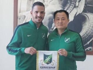 Equipe chinesa tem a opção de comprar Anselmo Ramon ao fim do empréstimo, válido até dezembro deste ano