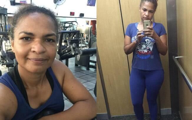 Com as mudanças em sua rotina, a jornalista Elane conseguiu perder peso e, diante disso, ter um vida mais saudável