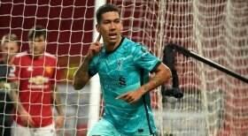 Liverpool vence o Manchester United com gols de Firmino