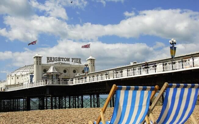 Brighton é conhecida como a capital gay da Inglaterra