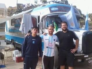 Federico Yarbi é outro que segue a seleção argentina em território brasileiro
