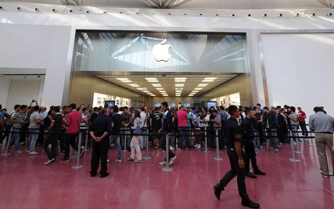 Itália conta com 14 Apple Stores, loja de Catania é uma delas