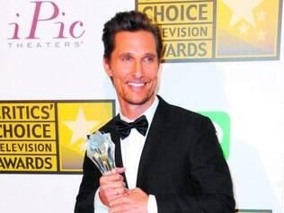 Matthew McConaughey teve a melhor performance em um drama