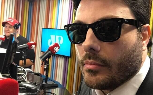 Danilo Gentili ironizou condenação durante o