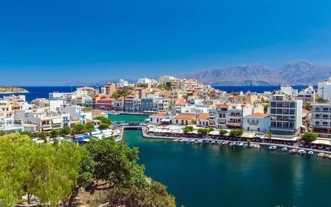 Creta, na Grécia, também está entre os destinos queridinhos dos turistas e não é para menos, o lugar é encantador