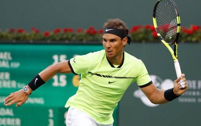 Rafael Nadal nunca quebrou uma raquete na sua carreira como tenista