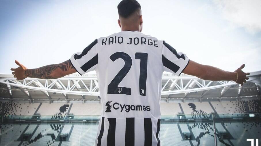 Kaio Jorge foi anunciado oficialmente como reforço da Juventus