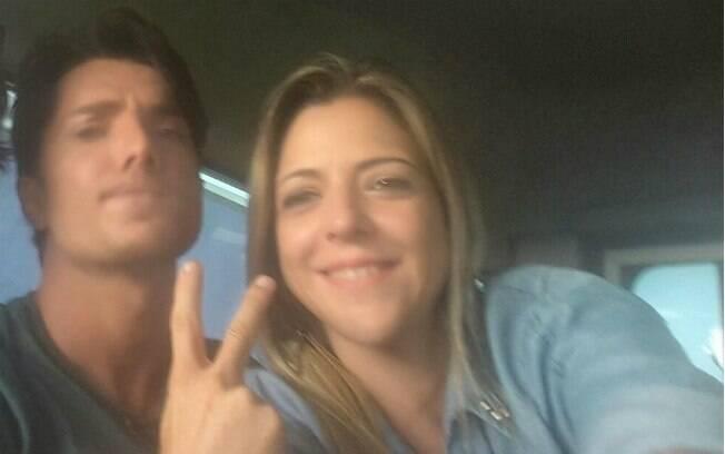 Rhoque Malízia e Renata Sartório passaram por susto durante as gravações