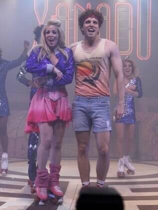 Danielle Winits protagoniza musical ao lado de Thiago Fragoso