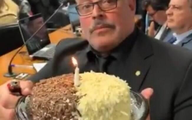 Frota com bolo