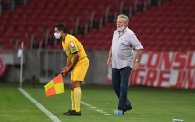 Desde a sua volta, Abel Braga ainda não ganhou no Beira-Rio