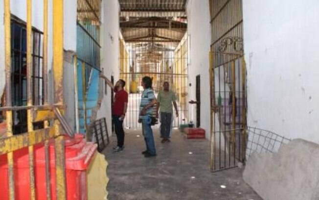Corredor da Casa de Detenção de Pedrinhas, no Maranhão; 60 detentos já foram executados no ano passado