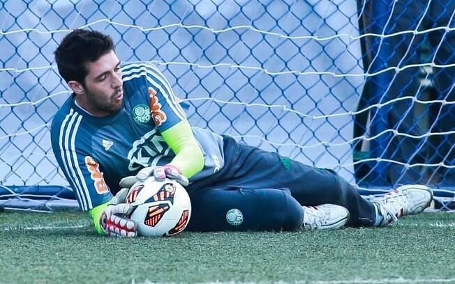 Bruno será o titular do Palmeiras diante de  Santos, pelo Paulistão, e Tijuana, na  Libertadores