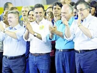 União. A realização de convenções de outros partidos junto a do PSDB de Minas não foi coincidência