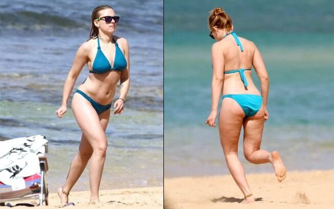 Scarlett Johansson: muitas curvas e um pouco de celulite