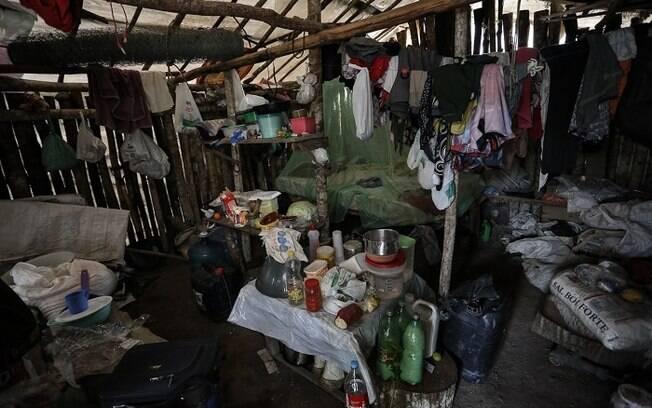 Casa de Berenice Lopes e Hélio Moreira Lopes após a chuva