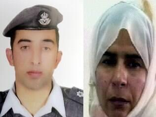 Jihadistas pedem a libertação da iraquiana, Sajida al-Rishawi, em troca do piloto da Jordânia, Maaz al-Kasasbeh