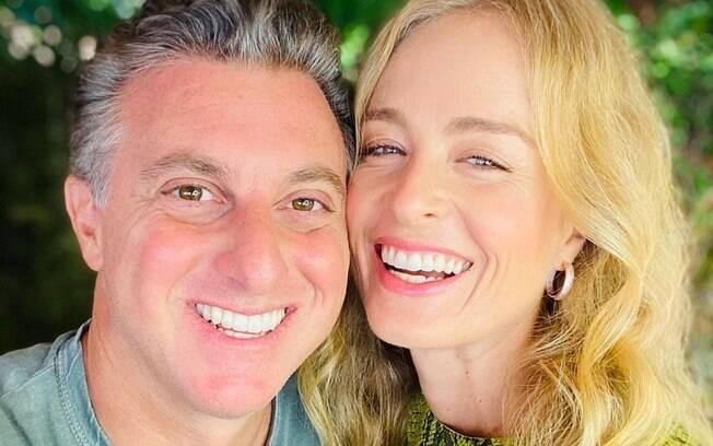 Angélica relembra começo de namoro com Luciano Huck