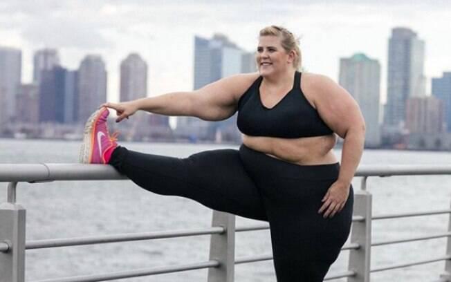 Críticos da marca atacaram modelo que participou da campanha, dizendo que ela não era capaz de fazer uma atividade física
