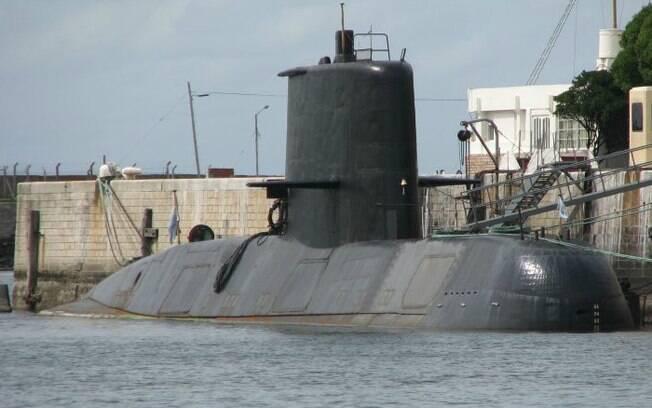 Submarino militar da Argentina, ARA San Juan, contava com 44 tripulantes quando desapareceu dos radares em 2017