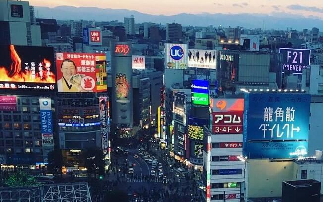 O Japão atrai turistas do mundo todo