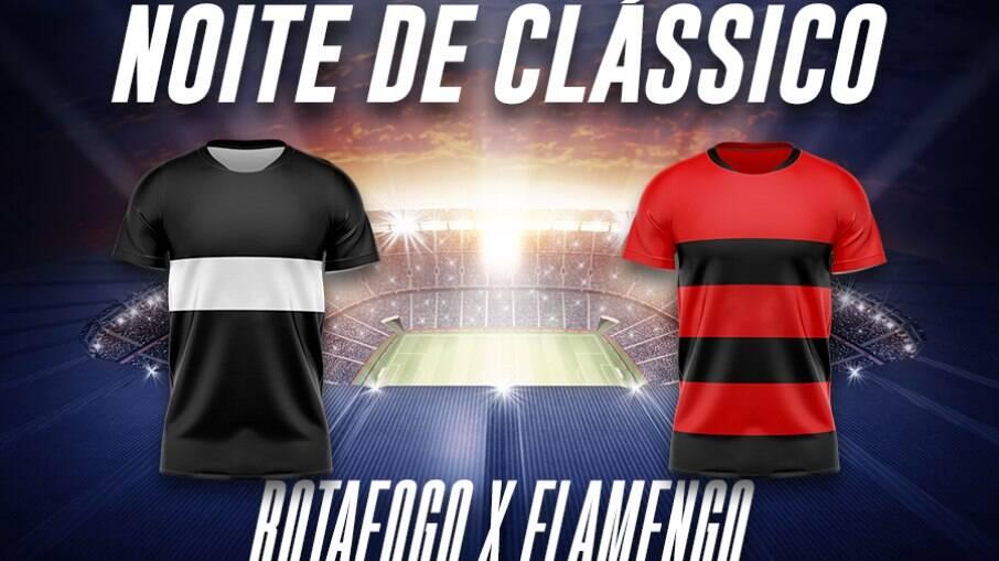 Flamengo e Botafogo se enfrentam nesta quarta-feira (24)