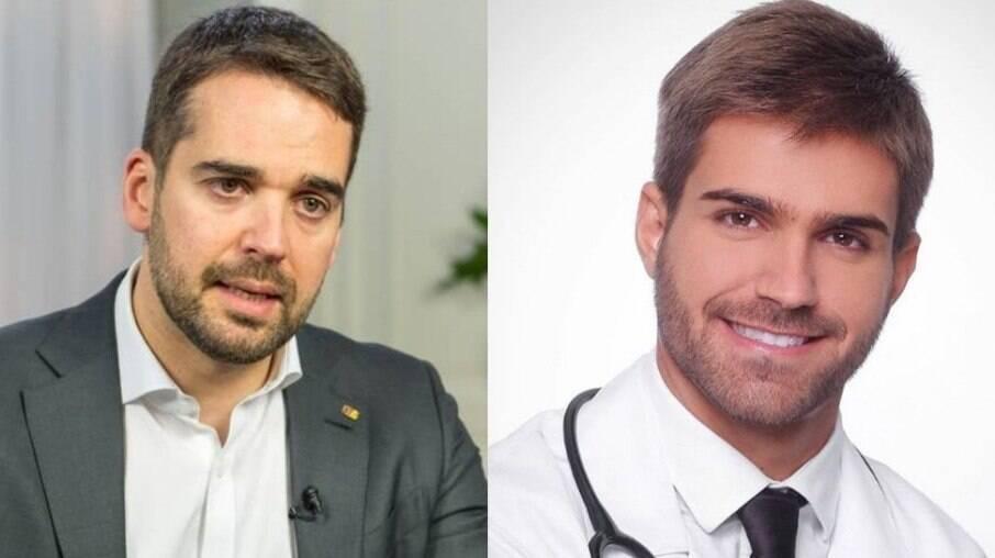 Eduardo Leite e Thalis Bolzan