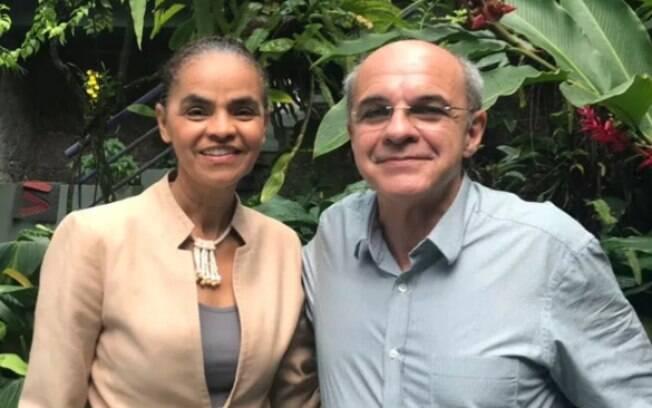 Eduardo Bandeira de Mello e Marina Silva podem compor a chapa presidencial da Rede Sustentabilidade nas eleições de 2018