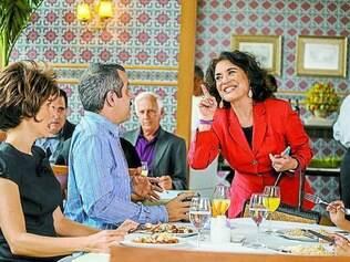 Convidados. Regina Duarte é uma das estrelas da Globo que participam da nova temporada do programa