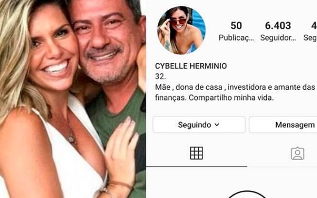Ex-esposa de Tom Veiga trancou perfil e apagou todas as fotos