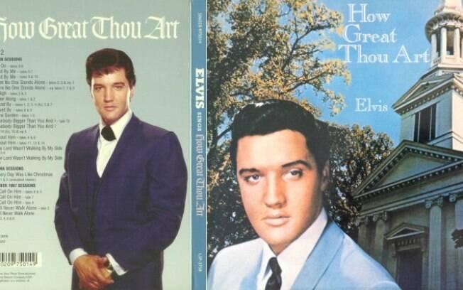 Elvis Presley ganhou três Grammys por louvores