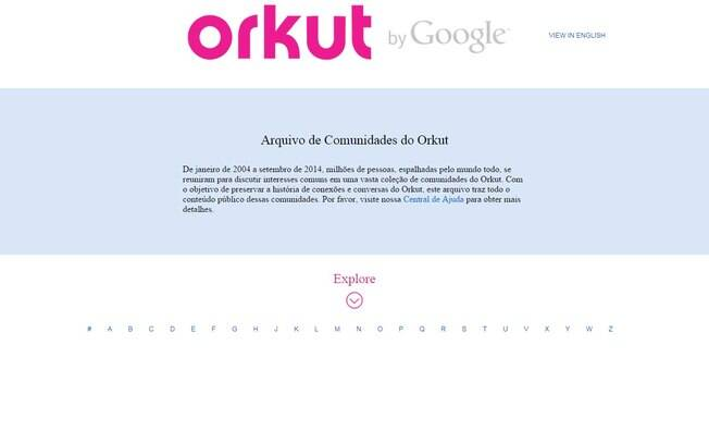 Google criou museu com comunidades do falecido Orkut