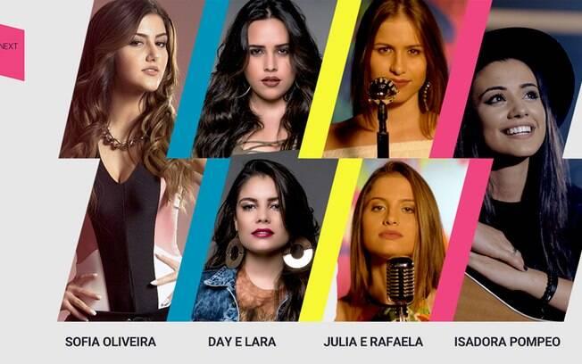 Deezer aposta em quatro talentos da música brasileira com o