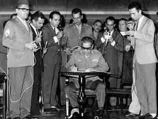 O AI-5, foi baixado em 1968, durante o governo do general Costa e Silva