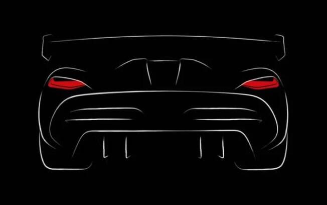 A Koenigsegg publicou um único teaser sobre seu novo modelo