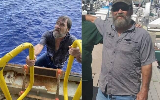 Marinheiro é resgatado após ficar dois dias antes em alto mar