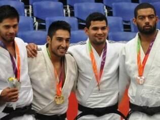Atletas brasileiros do judô seguem brilhando em Santiago