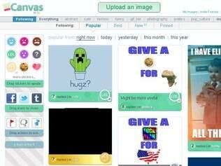 Criada por Moot, Canv.as permite modificar e compartilhar fotos com amigos
