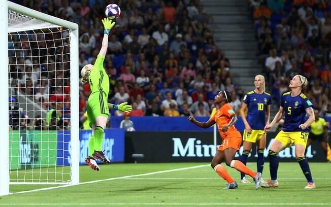 Lindhal foi um dos destaques da Suécia na Copa do Mundo feminina