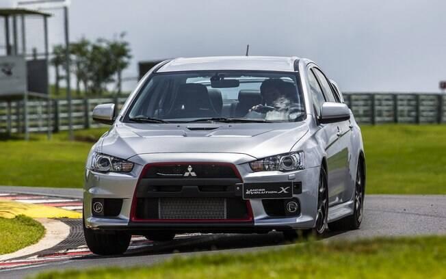 O Mitsubishi Lancer Evolution contou com a exclusiva versão John Easton entre os carros que deveriam voltar