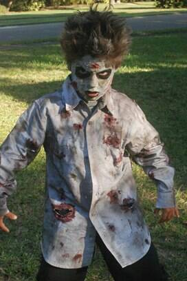 Scary Kid Halloween Costumes