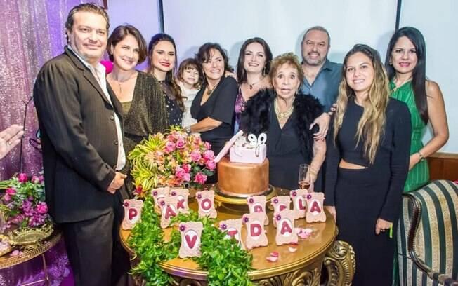 Daisy Lucidi e família