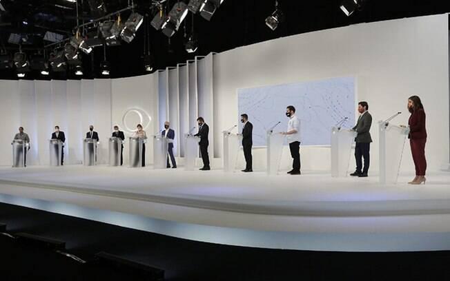 Candidatos à Prefeitura de São Paulo participaram do primeiro debate das eleições 2020