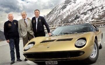 Lamborghini celebra os 50 anos do lendário esportivo Miura