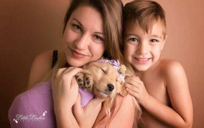 Kayla, Lucy e o menino de cinco anos que pedia por um irmão