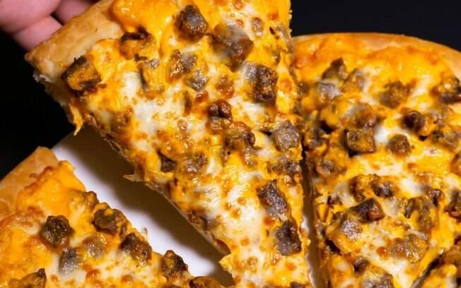 Tome nota da receita dessa pizza