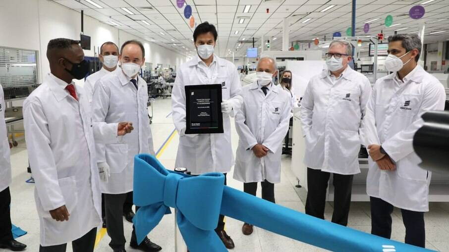 Linha de produção de placas 5G é inaugurada no Brasil